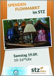 stz_flyer_A6_Flohmarkt_vorderseite